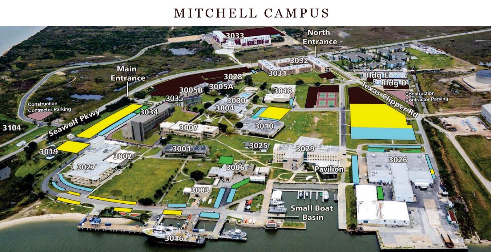 texas a m galveston campus map Texas A M University Galveston Campus Maps And Directions Texas